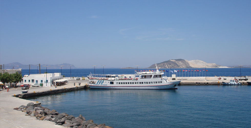Nisyros port view