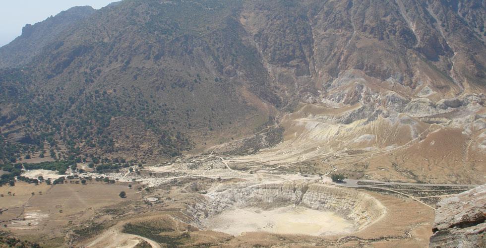 Volcano view from Nikia